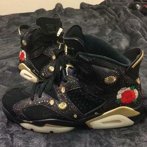 79094904a34573 Nike Air Jordan 6 Retro VI Chinese New Year 10.5